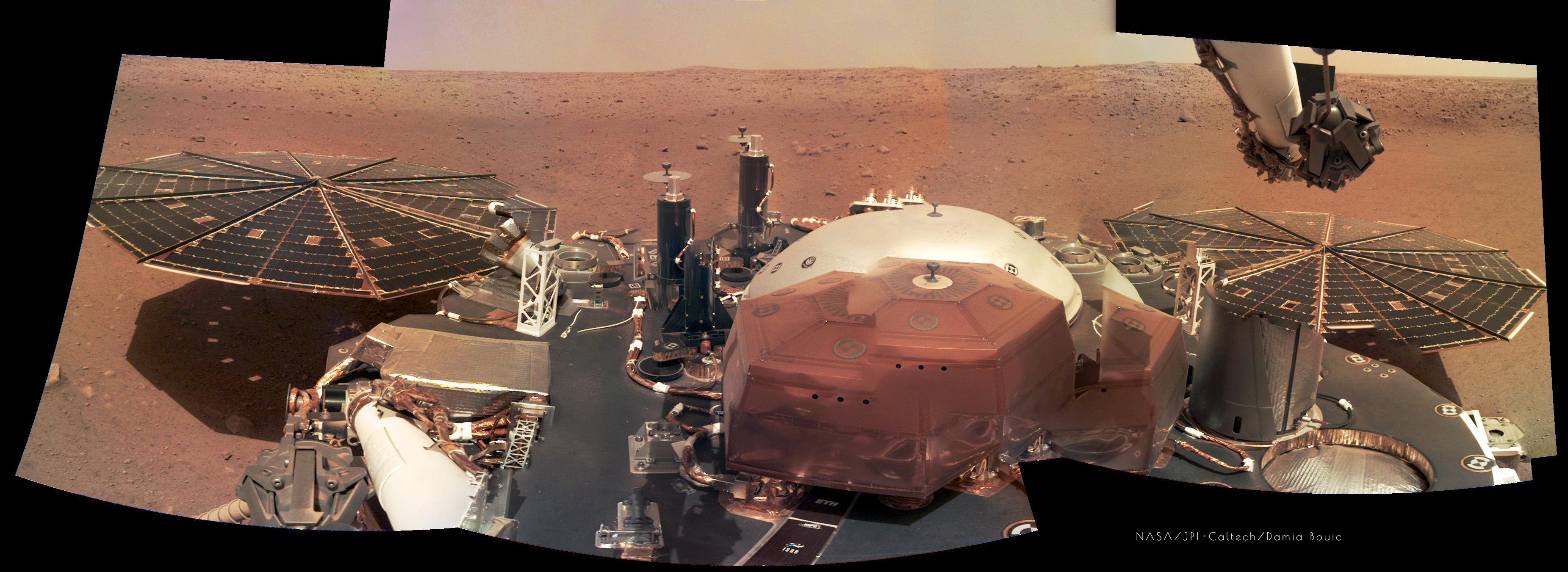 bbc news mars insight landing - photo #35